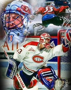 Just sittin here thinking about the upcoming hockey season. No seriously I was. And of course I can't think about hockey without my man Patrick Roy crossing my mind. Still miss seeing him play! You non-hockey folks won't understand. Hockey Goalie, Hockey Teams, Ice Hockey, Hockey Players, Montreal Canadiens, Quebec, Patrick Roy, Hockey Highlights, Hockey Season
