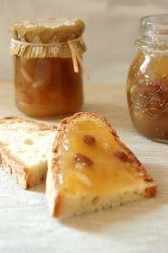 La Cucina dello Stivale: Composta di mele, pinoli e uvetta