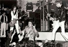 The Clash in action!