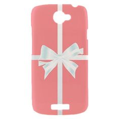 New PINK Tiffany Box with Beautiful Bow HTC One S Hardshell Case Cover HTC One S Case