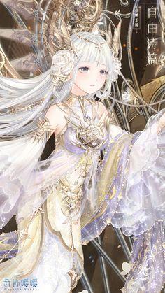 Kawaii Anime Girl, Anime Art Girl, Manga Girl, Anime Girls, Anime Girl Drawings, Anime Artwork, Dark Fantasy Art, Fantasy Girl, Beautiful Anime Girl