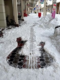 Snow Street Art  by Daniel Nicolajsen @ the inspiration.com