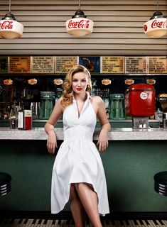 Soda shop shoot - we are a frequent backdrop for photo shoots!