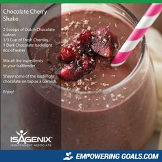 Amazing protein shake recipes by Isagenix. Learn how the amazing Isalean Shake can fuel you with 24 grams of indentured protein as well as needed vitamins and minerals to make a complete meal replacement shake that tastes amazing High Protein Smoothies, Smoothie Prep, Apple Smoothies, Protein Shake Recipes, Strawberry Smoothie, Protein Shakes, Whey Recipes, Drink Recipes, Smoothie Recipes