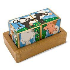 Farm Sound Blocks Cause & Effect Toys - National Autism Resources