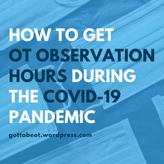 Gotta Be OT – Doing OT DIFFERENTLY EVERY DAY Occupational Therapy Activities, Occupational Therapist, Ot Programs, Volunteer Services, Find A Job, Recreational Therapy, Student, Education, Public Health