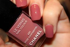 Chanel Le Vernis Nail Colour #491 Rose Confidentiel