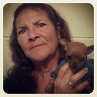 My lovely Mother Ramona!! Mi madre Hermosa and Canelita the little chihuahua.