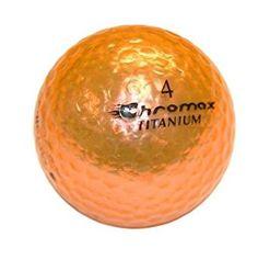 Golf Chromax M1 Golf Ball Orange Shiny 3 Balls Sleeve 7f17232b8