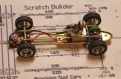 Simple brass chassis for vintage open wheel car - Slot Car Illustrated Forum