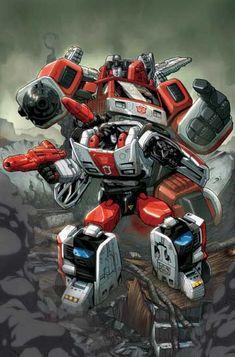 Autobot - Red Alert & Inferno