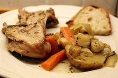 Kje med rotgrønnsaker Pot Roast, Ethnic Recipes, Food, Carne Asada, Roast Beef, Meals, Yemek, Eten