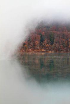 Lac de Chalain, Jura, France; photo by Gaylord Boussaud