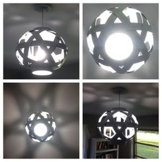 light fixture basket repurpose, crafts, diy, electrical lighting, painting