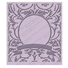 Cuttlebug Embossing Folder TIMELESS #3 New (out of the box but never used) #Cuttlebug
