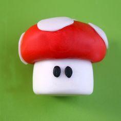 Super Mushroom Tutorial   Super Mario Cake Ideas