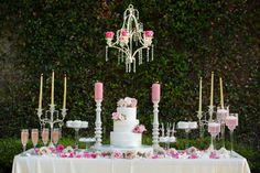 Garden Style Wedding.  Design & Coordinating: Uptown Weddings & Events; Photography: Jonathan Ivy Photography