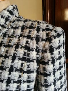 "# Chanel's Garment  for     Bespoke Coat Particular    ""work in progress """