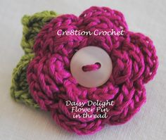 gauging crochet yarn   Daisy Delight Free Crochet Flower Pattern