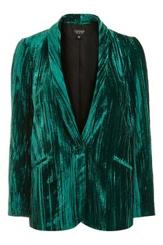 Crinkle Velvet Blazer and Shorts - New In This Week - New In - Topshop Europe