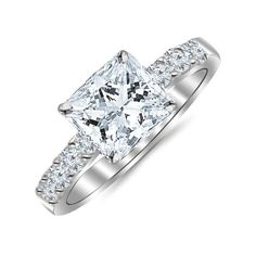 Jewelry & Watches Systematic Diamond Ring Vs1 D 1.41 Carat 18 Karat Yellow Gold Colorless Natural Flawless