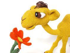 Quasimodo the Camel Amigurumi Pattern Crochet by IlDikko on Etsy