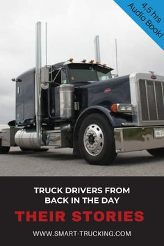 You'll receive a 4.5 hour audiobook of entertaining old trucker stories, narrated by Dave, a 42+ year veteran truck driver, including a section of BONUS audio with Dave and the Legendary Lettuce King, UNCUT and UNEDITED. #trucker #truckdriver #trucking #audiobook Old Mack Trucks, Big Rig Trucks, Semi Trucks, The Golden Years, Vintage Models, Business Advice, Back In The Day, Audiobook, Lettuce