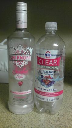 Best spritzer ever! The flavored sparkling water has 0 sugar, caffeine, calories, or sodium. Plus you won't get a hangover because you're drinking water the whole time you're drinking alcohol! Brilliant :)