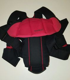 36b1f426fdc Baby Bjorn Active Baby Carrier with Lumbar Back Support Black and Red VGC