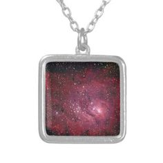 Lagoon Nebula custom personalized Jewelry