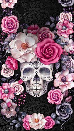 Skull wallpaper iphone, sugar skull wallpaper и skull. Skull Wallpaper Iphone, Sugar Skull Wallpaper, Sugar Skull Artwork, Cellphone Wallpaper, Sugar Skulls, Candy Skulls, Wallpaper Caveira, Caveira Mexicana Tattoo, Skull Pictures