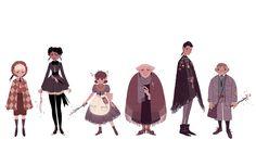Very Familiar — Sara Kipin Character Concept, Character Art, Concept Art, Character Creation, Character Design Animation, Character Design References, Sara Kipin, Pretty Art, Character Design Inspiration