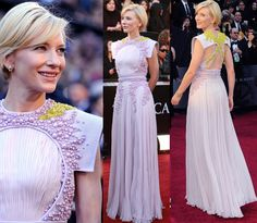 The Best Oscars Dresses Of All Time | Visual Therapy Blog Cate Blanchett in Givenchy Haute Couture