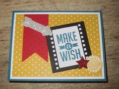 On Film Framelits birthday card with Stampin' Up http://scraphappenshere-darla.blogspot.com/