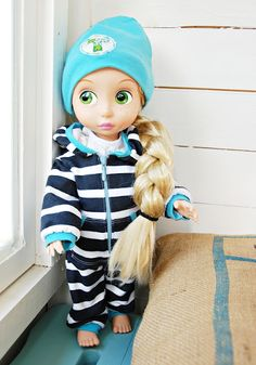 Disney doll in new clothes