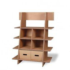 mobilier-orika.com Etagère triple épaisseur en carton