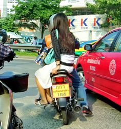 Afterwatching and admiring the poise and balance of Thai girls riding side-saddle on motorbikes for over 14 years, it dawned on me...... Why do they ride this way? Much more about Koh Samui and Thailand here: http://islandinfokohsamui.com/   motorcycle-side-saddle-Thailand-bangkok-samui-tours-travel-trans