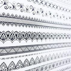 67 Ideas art design patterns drawings ink for 2019 Mandala Doodle, Mandala Art Lesson, Mandala Tattoo, Doodle Art Drawing, Mandala Drawing, Mandala Pattern, Zentangle Patterns, Zentangles, Madhubani Painting