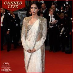 Sonam Kapoor at the Opening Night of The 66th Annual Cannes Film Festival at the Theatre Lumiere on May 15, 2013 in Cannes, France.
