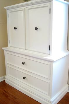 How to paint a cabinet right