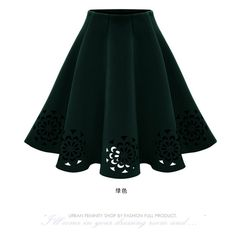eb6bbe86bbb Clothing Type  Women Skirts Style  Casual Pattern Type  Print Silhouette   A-Line Decoration  Hollow Out Dresses Length  Knee-Length Waistline  Empire  Fit  ...