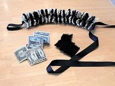 Graduation Lei with money