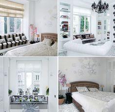 Нежный #интерьер в серо-белых тонах. Дизайн @angelinaaskeriinteriors #Текстиль #galleria_arben #bedroom #interior