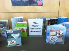 From icy popsicles to clambakes, we have the recipes of summer. Check out our display on the 2nd floor.