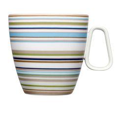 Iittala - Origo Beige Mug with Handle 1