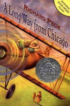 A long way from Chicago : a novel in stories by Richard Peck  Click the cover image to check out or request the children's books kindle.