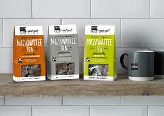Creative Agency: Nik and Carole Ltd  Project Type: Produced, Commercial Work  Client: Mazawattee Tea  Location: United Kingdom  Packaging ...