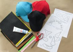 Toothless, Hookfang and Stormyfly hats are ready to fly in for your next family movie night, How to Train Your Dragon party or afternoon craft. This easy craft uses baseball caps and felt to make adorable dragon hats that will thrill and delight any How to Train Your Dragon fan. The hats are fun to make and easy enough for kids to help!