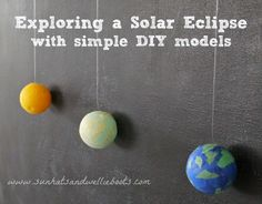 Sun Hats & Wellie Boots: Simple Quick & Easy Models of the Sun, Moon & Earth for Kids to Make