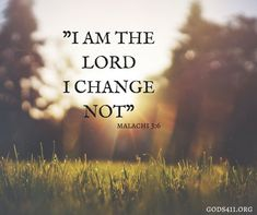 Malachi 3:6 | Bible Verses #wisdomquotesbible